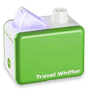 Macom Travel Whiffer - Humidificador (100 - 240 V, 50/60 Hz, 12 W, 110 mm, 65 mm, 80 mm) Verde