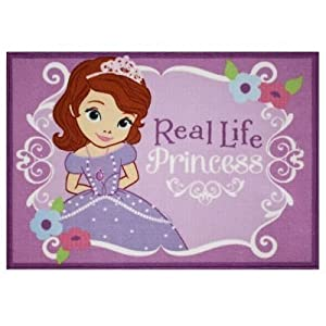 Amazon Com Sofia The First Quot Real Life Princess Quot Area Rug