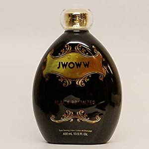 Australian Gold Jwoww Black Bronzer Dark Tanning Lotion, 13.5-Ounce