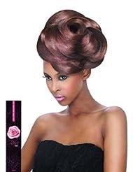 Outre Velvet Virgin Human Hair Weave REMI ROSE YAKI (10SHORT INCH, 1B