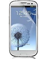 Samsung Galaxy S3 Film de Protection d'Ecran Transparent (Pack de 3) + Chiffon Gratuit