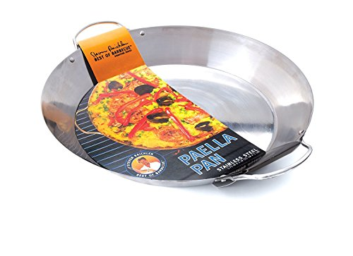 Steven Raichlen Best of Barbecue Stainless Paella Pan (Paella Spatula compare prices)