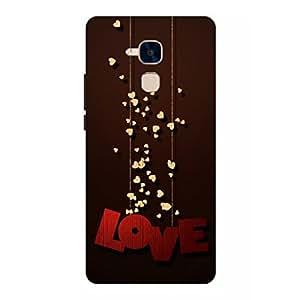 Joe Printed Plastic Back Case For Huawei Honor 5C Mobile ( Multicolor)
