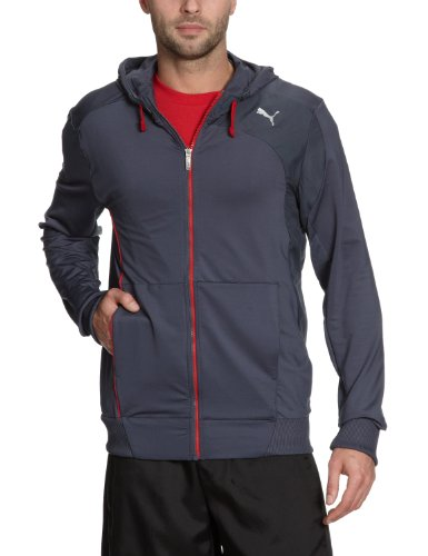 PUMA Herren Sweatjacke Full Zip Hooded 2, ombre blue, M, 506954 01