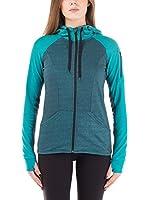 Nike Hurley Sudadera con Cierre Dri-Fit Fleece Zip Up Hoodie (Azul)