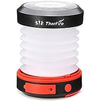 ThorFire CL04 Camping Solar LED Lantern Mini Flashlight Torch Light Lamp