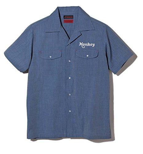 Honda(ホンダ) SHINICHIRO ARAKAWA モンキー ワークシャツ ブルー LLサイズ 0SYEL-T58-BLL