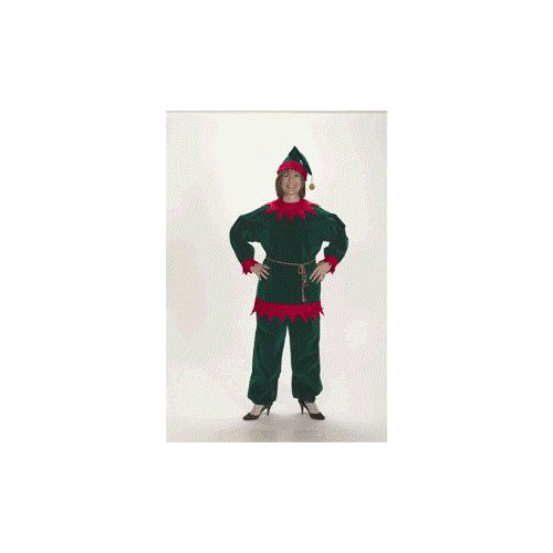 Velvet Elf Suit Adult 8û10