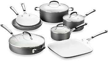 Calphalon Simply Ceramic 11-Pc Cookware Set