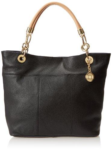 Tommy Hilfiger TH Signature Shoulder Bag,Black,One Size