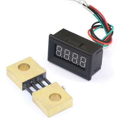 Etek Digital Multimeter : Riorand ″ blue led digital electric ammeter amper dc