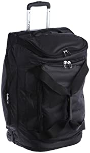 Nike Golf Departure II Roller Duffle Golf Bag, Black Black by Nike Golf