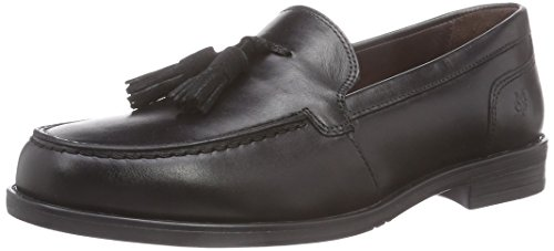 Marc O'Polo Loafer, Scarpe chiuse donna, Nero (Schwarz (990 black)), 39