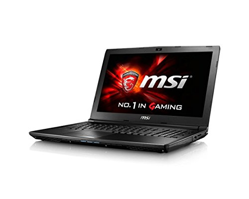 Msi gl62 6qc 037uk 156 inch gaming laptop intel core i5 6300hq 230 ghz 12 gb ram 1 tb hdd nvidia geforce 940mx windows 10