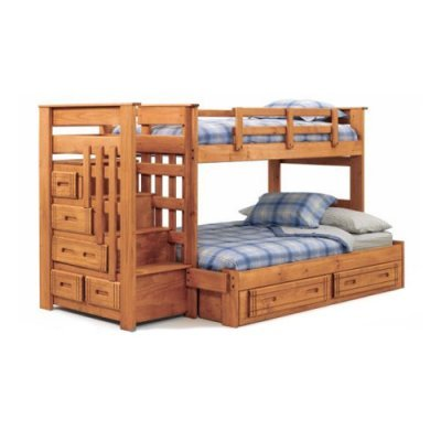 Bunk Beds With Stairs 9075 front