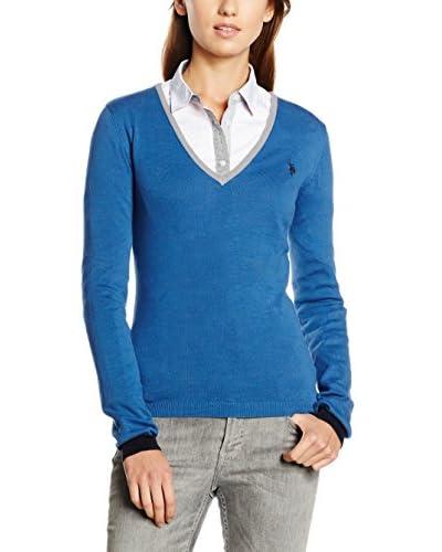 U.S.POLO ASSN. Pullover blau