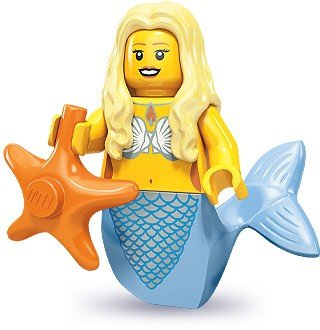 Lego 71000 Series 9 Minifigure Mermaid - 1