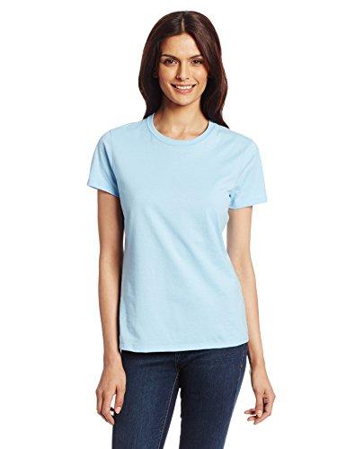Hanes Women's Nano T-Shirt, Small, Light Blue (Light Blue Short Sleeve Shirt compare prices)