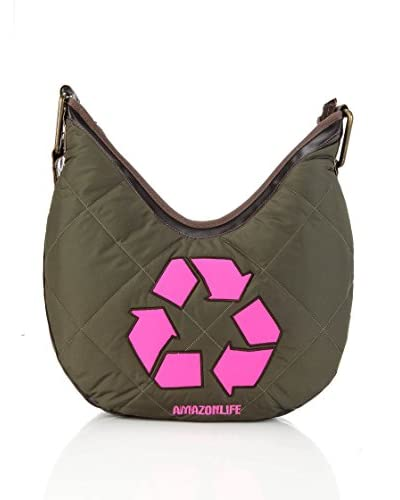 Amazonlife by Braccialini Borsa A Tracolla Recyclado