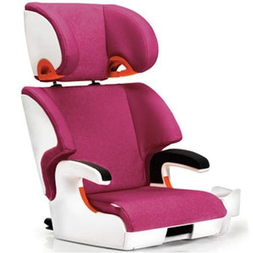 Clek Oobr Booster Car Seat, Snowberry front-892419