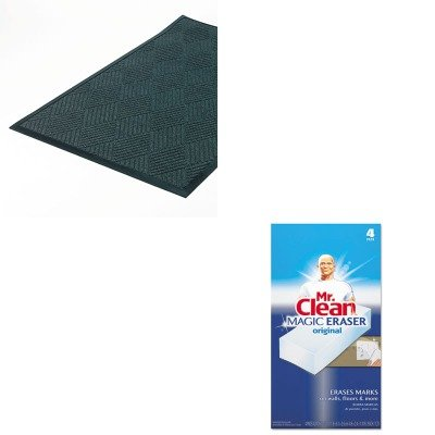 KITCWNS1R035STPAG82027 - Value Kit - Crown Super-Soaker Diamond Mat (CWNS1R035ST) and Mr. Clean Magic Eraser Foam Pad (PAG82027)