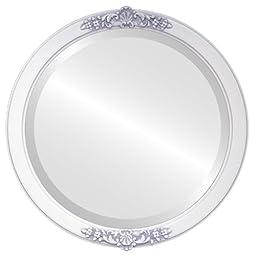 Athena Circle in Linen White