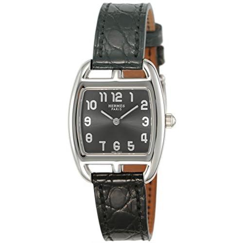 [エルメス]HERMES 腕時計 ケープコッド トノー グレー文字盤 アリゲーター革 CT1.210.230/ZNO レディース 【並行輸入品】