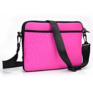 Fuschia Premium Neoprene Tablet Bag Universal Fit For Lava Xolo Play Tab 7.0 Tablet available at Amazon for Rs.4910