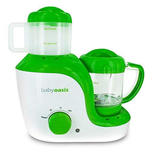Smart Planet BFM-1 Baby Oasis Baby Food Maker (Steamer And Blender Baby compare prices)