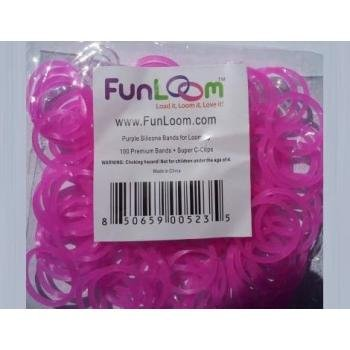 Purple Twist Bands Fun Loom