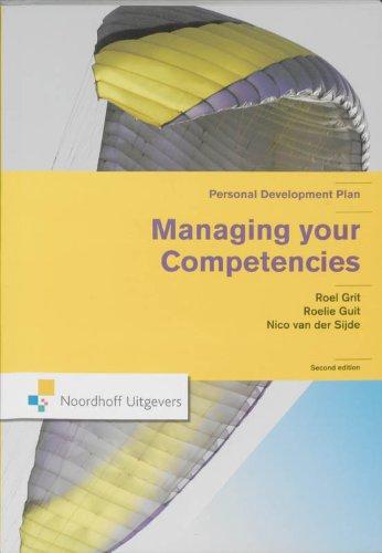 Managing Your Competencies: Personal Development Plan