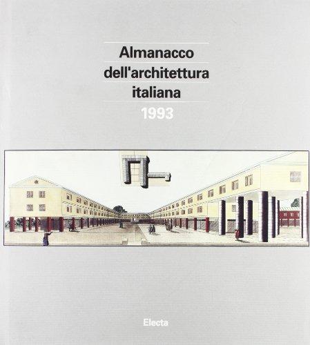 almanacco electa dell 39 architettura italiana 1993 pippo