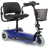 Mega Motion Travel Pal 3 Wheel Scooter with Front Basket - MM111B