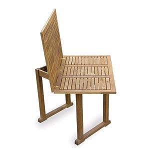 Tavolo allungabile in legno apertura a libro arredo da for Amazon arredo giardino