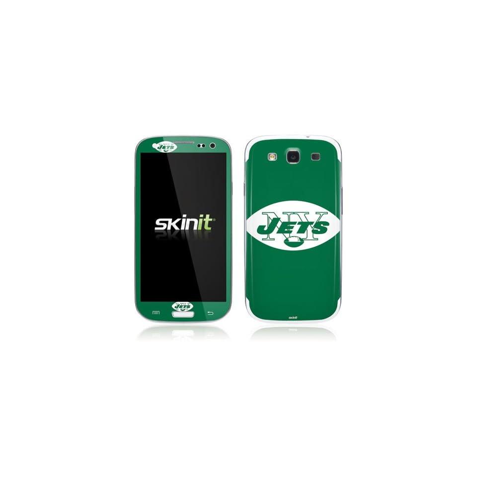 NFL New York Jets Galaxy S III Skin   New York Jets Retro Logo Vinyl Decal Skin For Your Galaxy S III