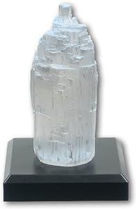 Chakra Selenite Crystal Lamp
