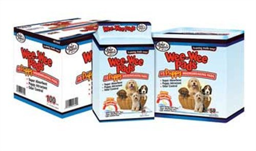 picture Four Paws Wee-Wee Puppy Housebreaking Pads, 150-Pack
