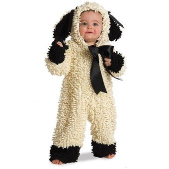 Wooly Lamb Costume Size 6-12 Month - 4625