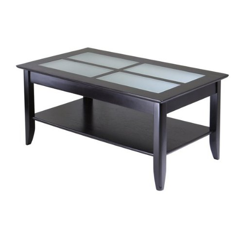 Syrah Coffee Table With Frosted Glass Syrah Coffee Table With Frosted Glass