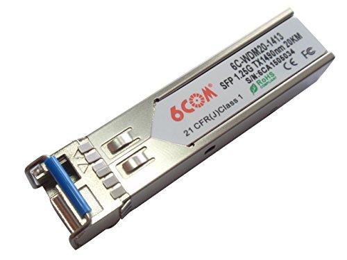 Best Deal 6COM WDM SFP Transceiver 1 25G Tx1490nm/Rx1310nm