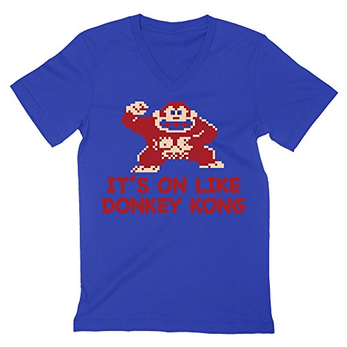 It's On Like Donkey Kong T-Shirt Men's V-Neck