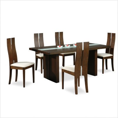 Buy low price new spec inc cafe 28 7 piece unique dining for Unique dining table sets