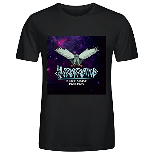 Hawkwind Space Chase 1980 1985 Mens T Shirts Black (Kirby Sonic compare prices)