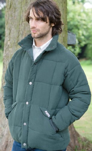 Puffa Country Sports Men's Burton Country Jacket - Olive, Large