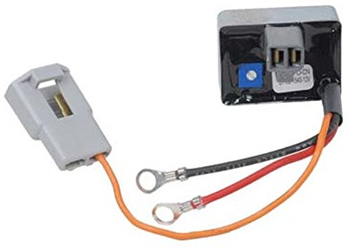 Conversion Voltage Regulator Converts 10DN To One 1-Wire Hookup Simple Install, Plugs into back of alternator (One Wire Alternator Conversion compare prices)