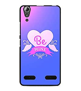 PrintDhaba Quote D-2868 Back Case Cover for LENOVO A6000 PLUS (Multi-Coloured)