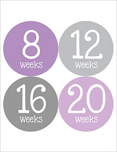 Months in Motion 901 Pregnancy Baby Bump Belly Stickers Maternity Week Sticker
