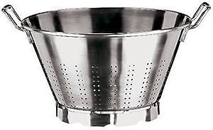 Paderno World Cuisine 13-1/2-Quart Stainless Steel Vegetable Strainer