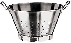 Paderno World Cuisine 13-1/2-Quart Stainless Steel Vegetable Strainer