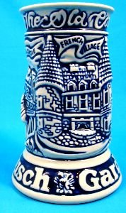 1970's BUSCH GARDEN STEIN TANKARD - WILLIAMSBURG VA OLD COUNTRY